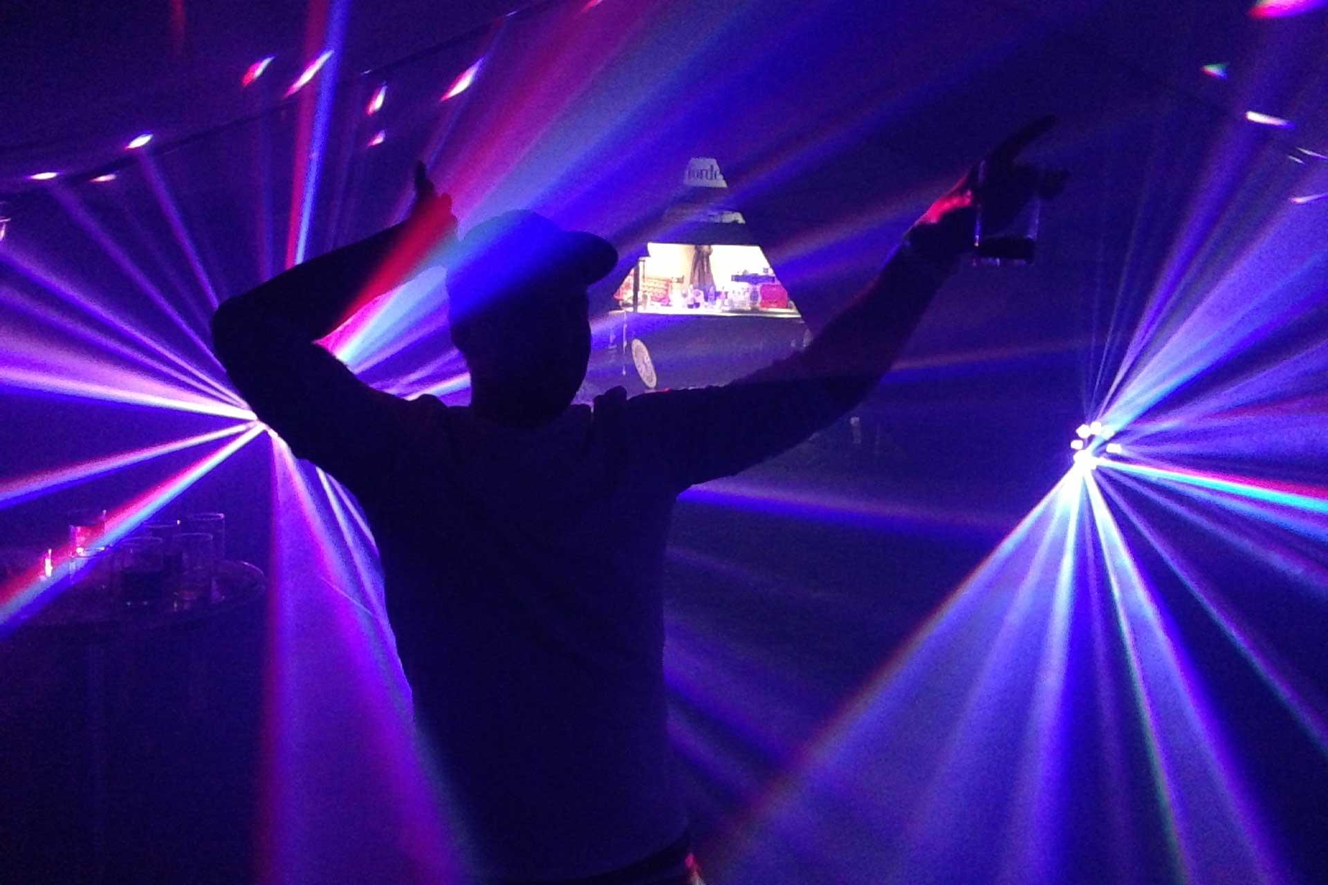 LED-Lichteffekt 4